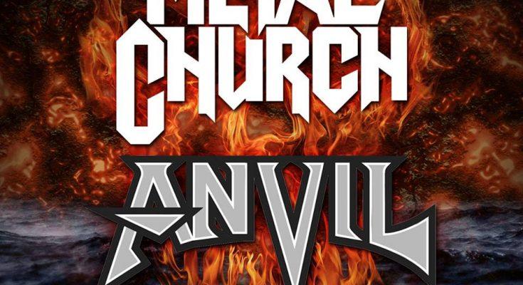 Metal Church and Anvil at Alcatraz 2019!