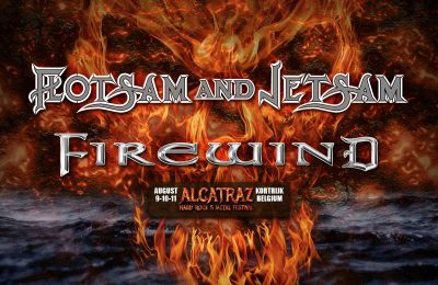 Flotsam and Jetsam + Firewind at Alcatraz 2019!