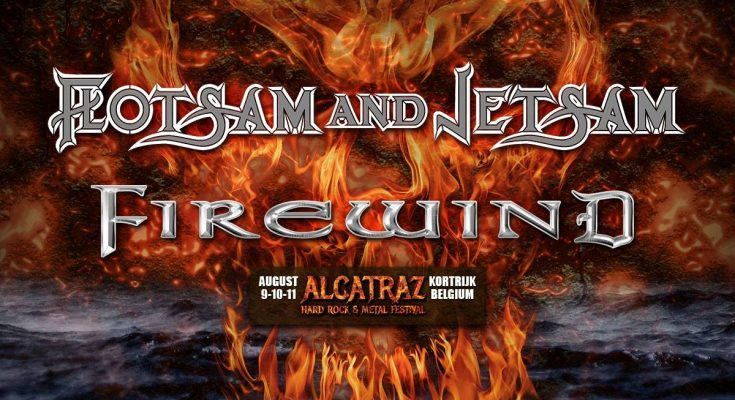 Flotsam and Jetsam + Firewind at Alcatraz 2019!