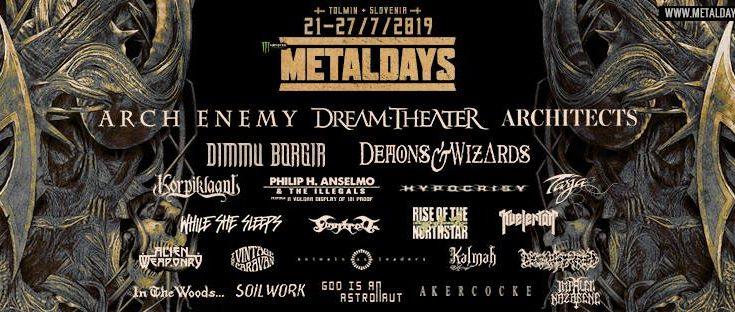 Tolmin metal days MetalDays in