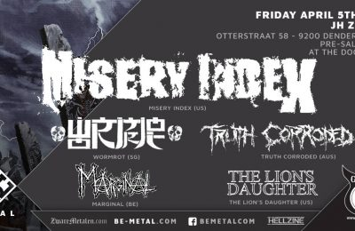 Misery index Live at JH Zenith!
