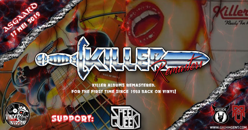 """Killer """"Remasters"""" release show in Asgaard"""