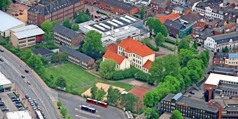 Ein Solardach für Bad Segebergs Dahlmannschule