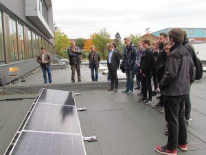 Photovoltaikanlage für Berufliches Gymnasium Umwelttechnik