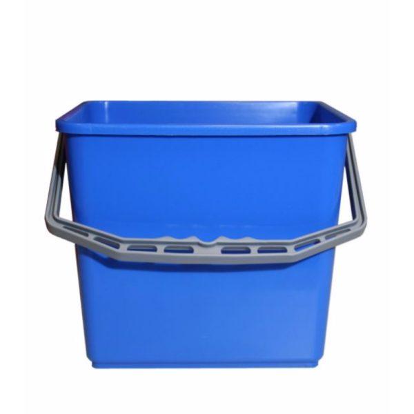 Emmer kunststof 6 liter blauw