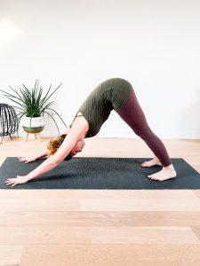downdog pose yoga