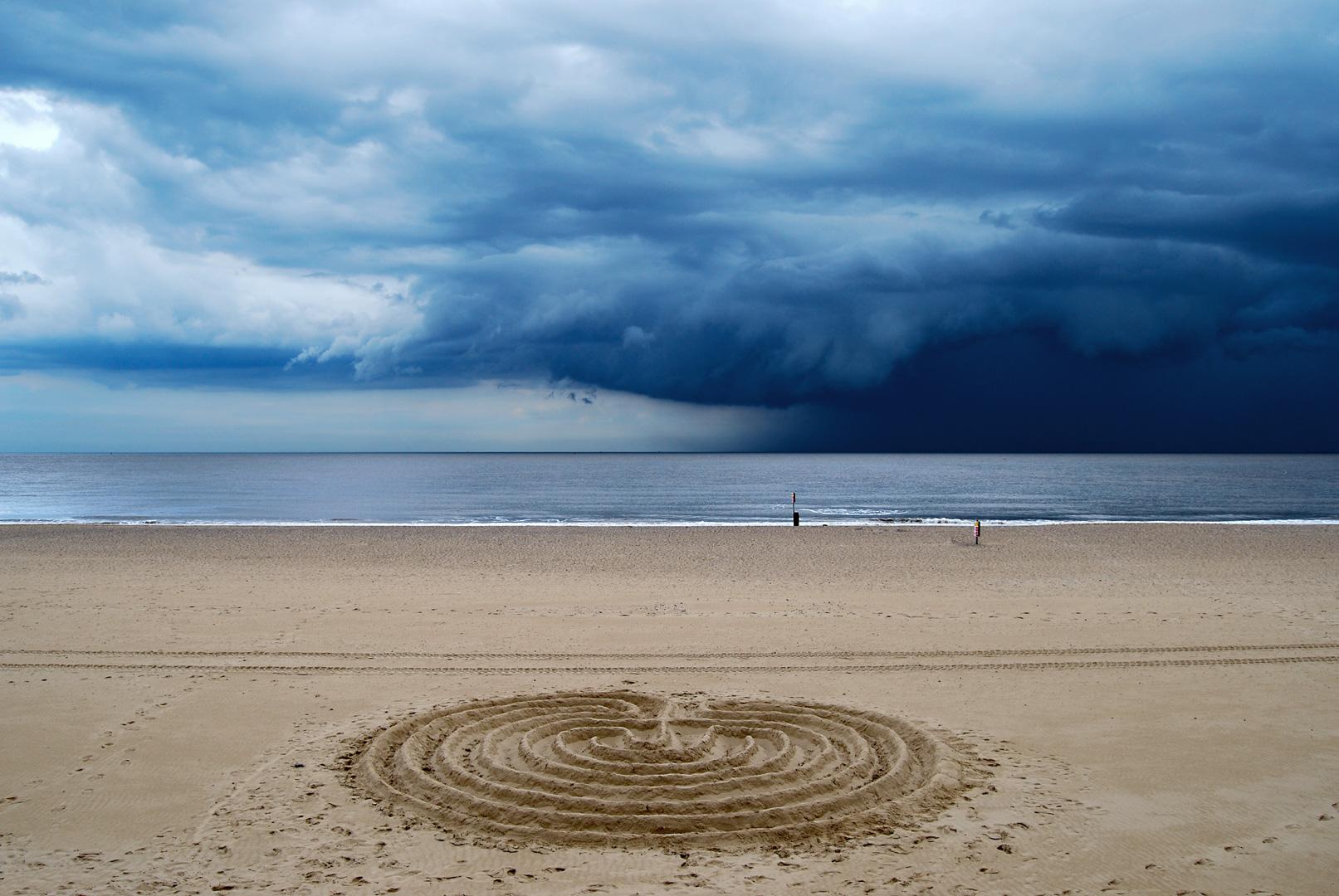 Lowestoft Sand Labyrinth