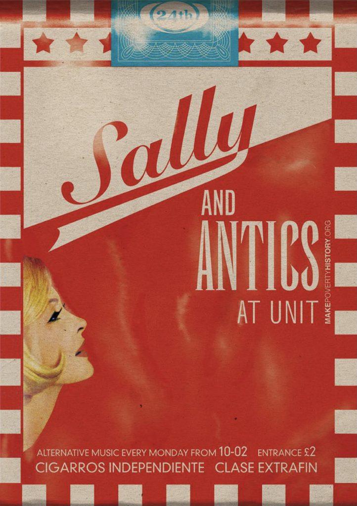 Sally Antics Poster