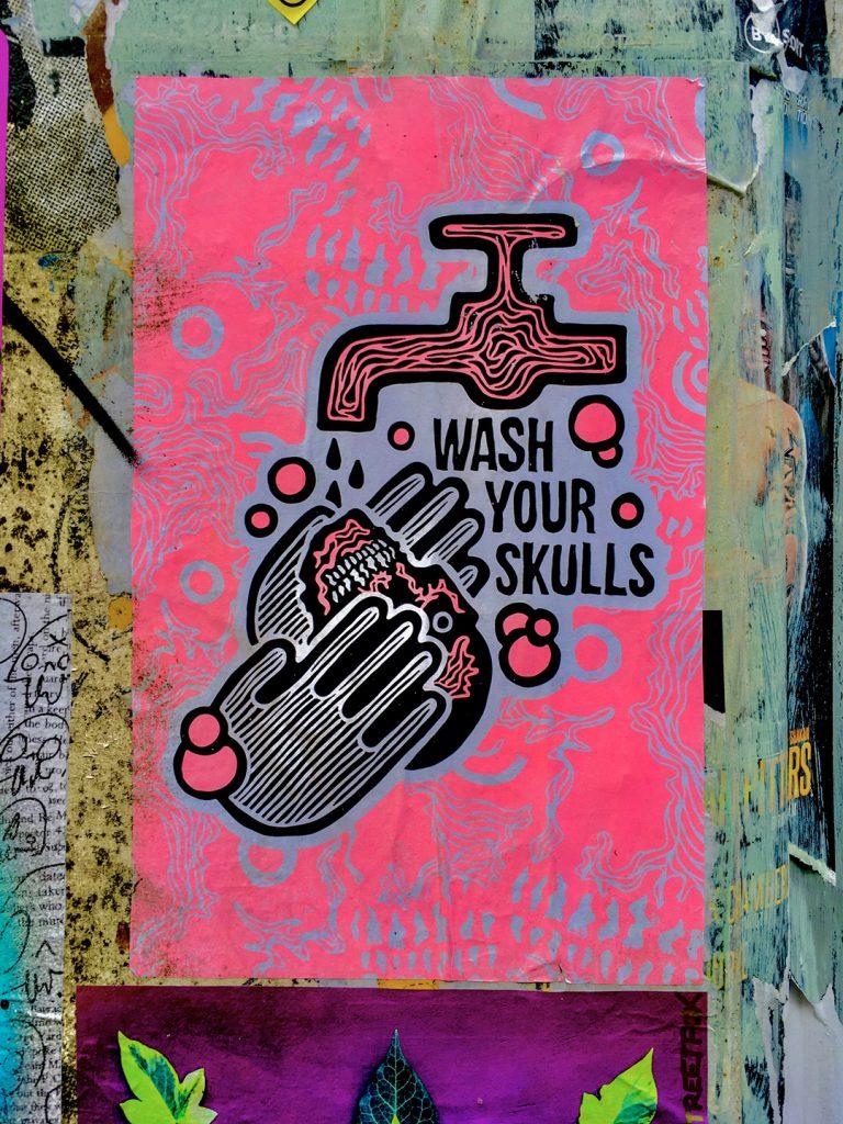 wash your skulls