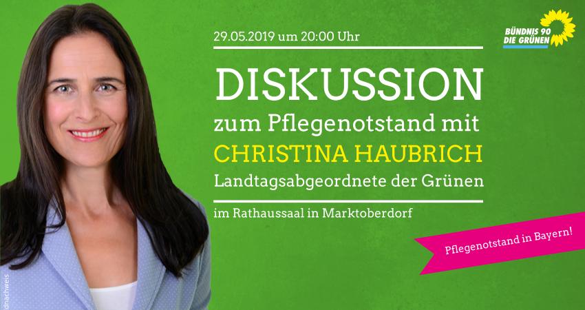 Christina Haubrich Grüne Marktoberdorf