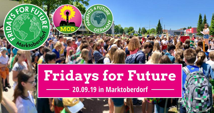 Fridays For Future Grüne Marktoberdorf