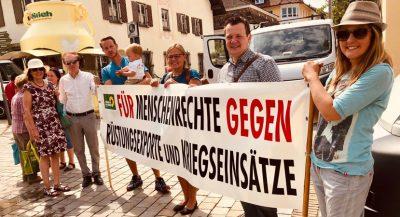 Grüne Marktoberdorf Frieden Menschenrechte