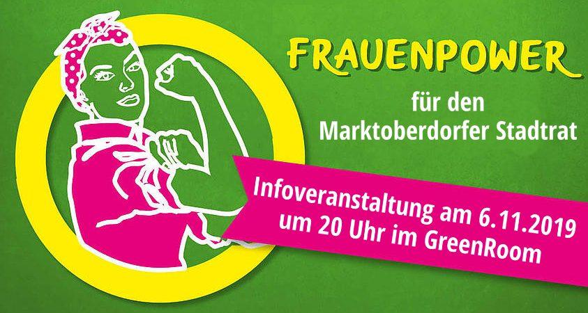 Frauen Grüne Marktoberdorf Stadtrat Liste Kommunalwahlen 2020