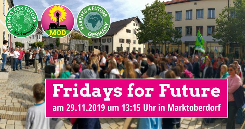 FFF Fridays for Future Marktoberdorf Grüne Bündnis 90