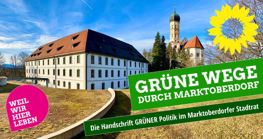 Grüne Politik Stadtrat Marktoberdorf Christian Vavra und Georf Martin