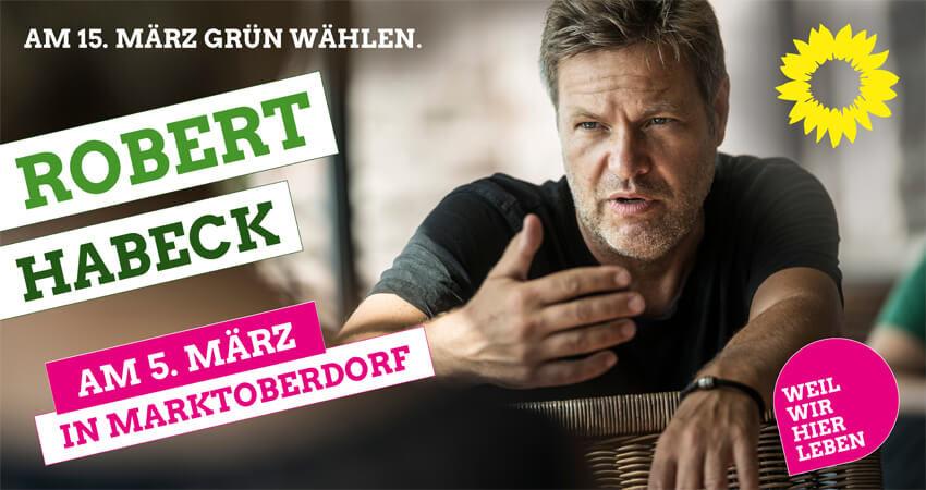 Robert Habeck Marktoberdorf Bündnis 90 / Die Grünen