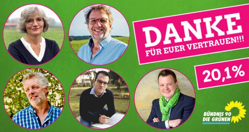 Bündnis 90 / Die Grünen Stadträte Marktoberdorf Jörg Schneider, Dr. Anne-Dore Klasen, Georg Martin, Dr. Simon Behr, Christian Vavra