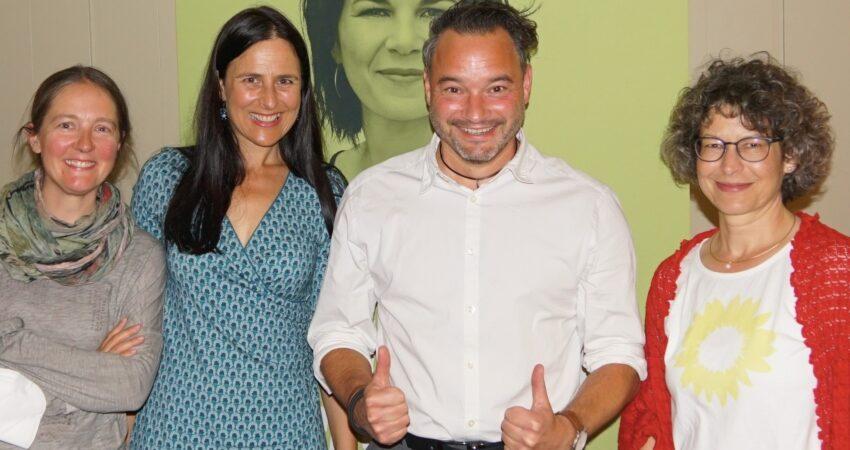 Ortsvorstand Marktoberdorf mit Christina Haubrich und Daniel Pflügl