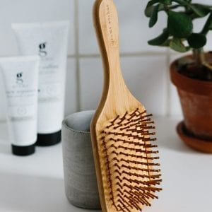 grums bamboo hairbrush