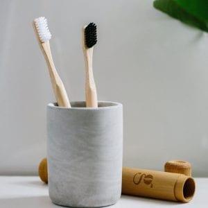 grums bamboo toothbrush