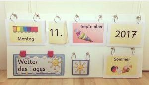 Mobiler, flexibler Kalender