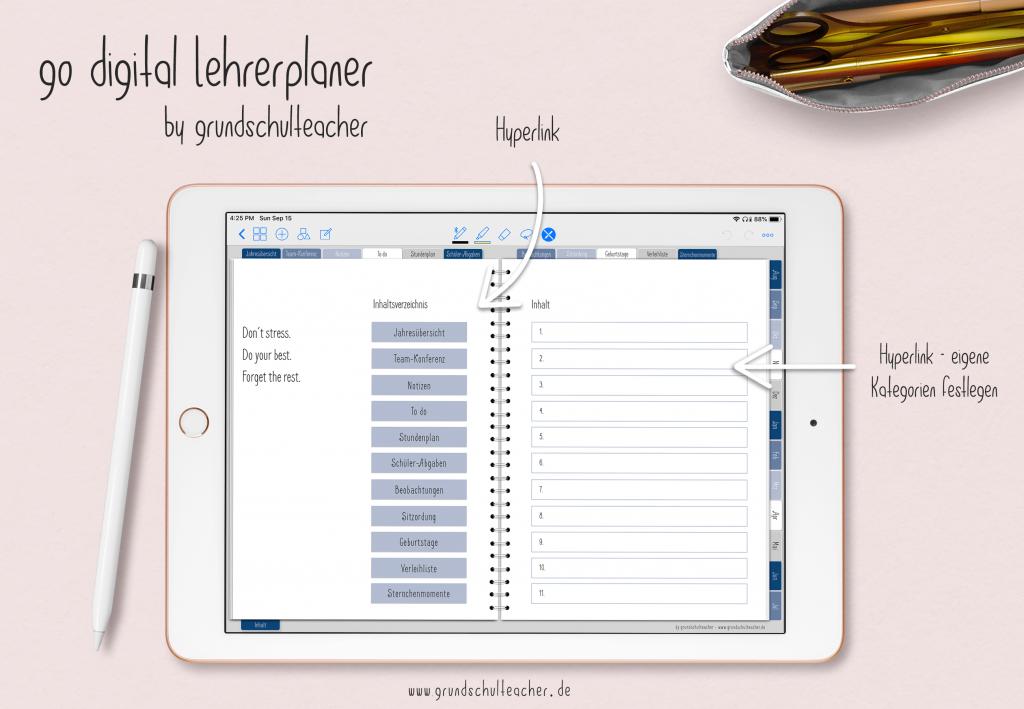 go digital Lehererplaner für 2020/2021 – jetzt auch für 10 Schulstunden und mit weiteren neuen Funktionen