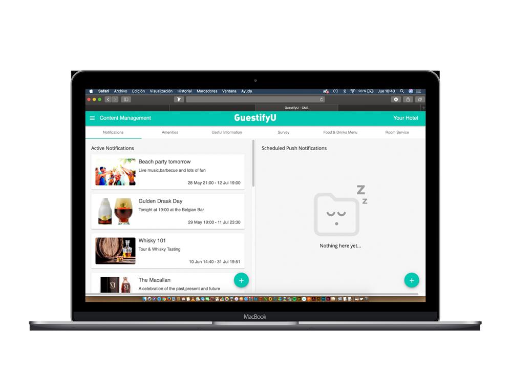 We Make Managing a Hotel Easy Guestifyu Hotel management app