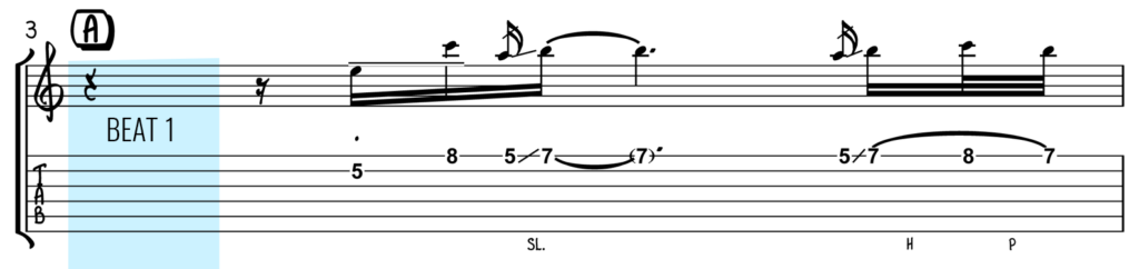 Writing Better Guitar Solos Tip 1