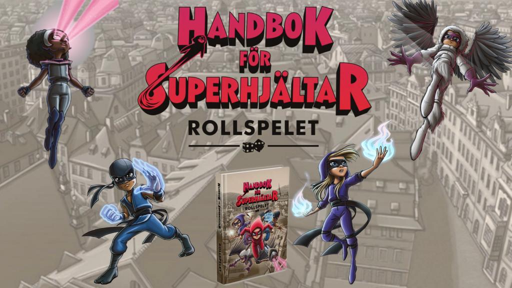 Handbok för superhjältar rollspel
