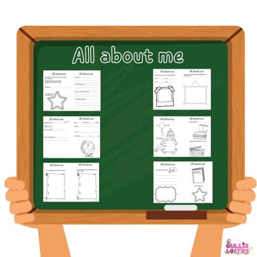 Allt om mig Vad min lärare och klasskompisar behöver veta om mig. (2)