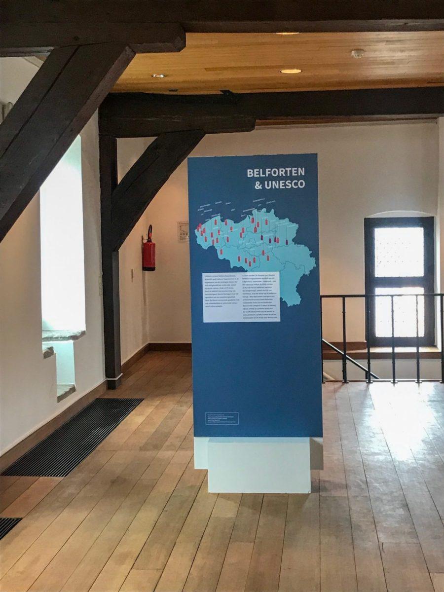 Het belfort Unesco werelferfgoed
