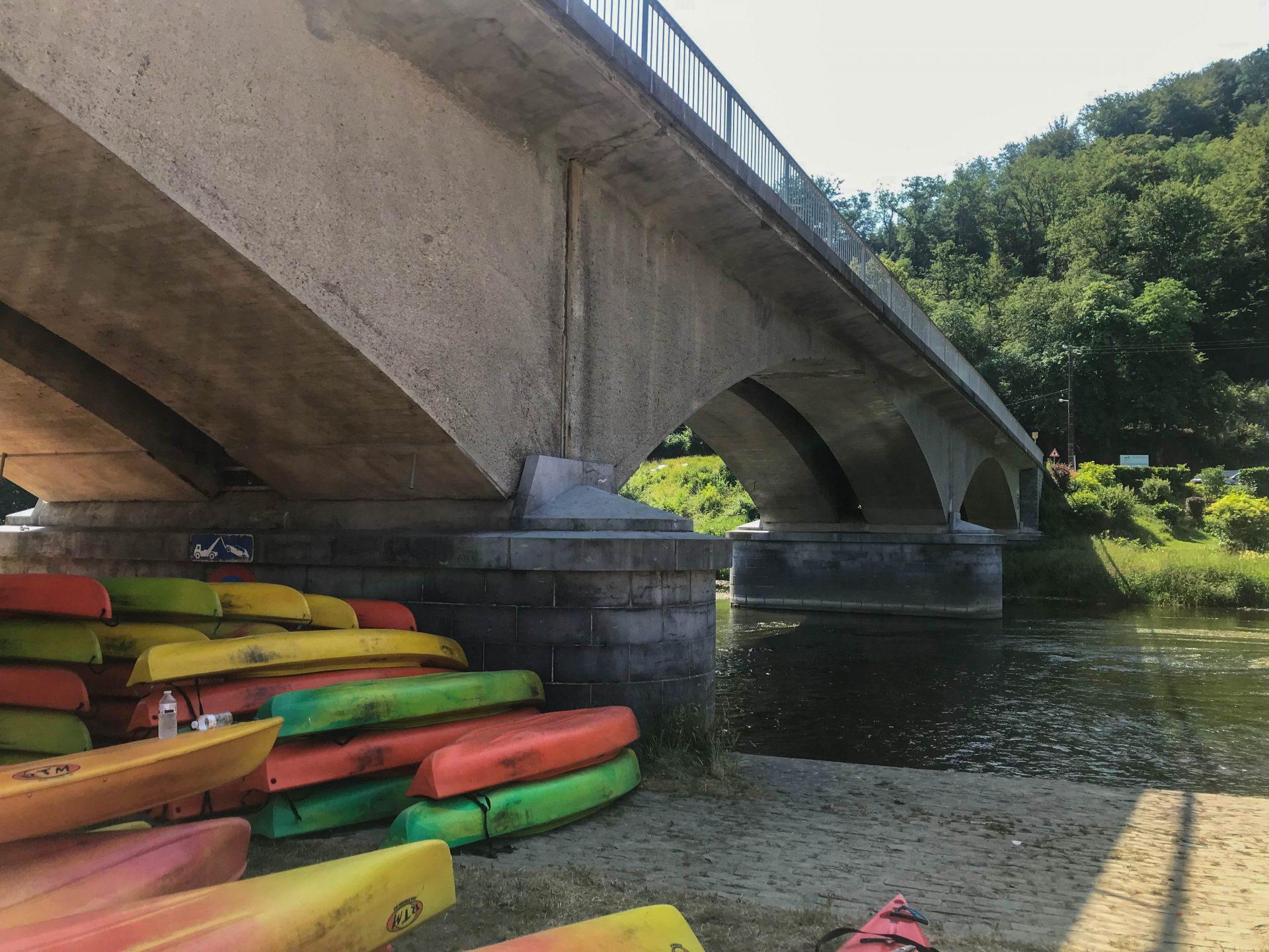 La semois en Kayak