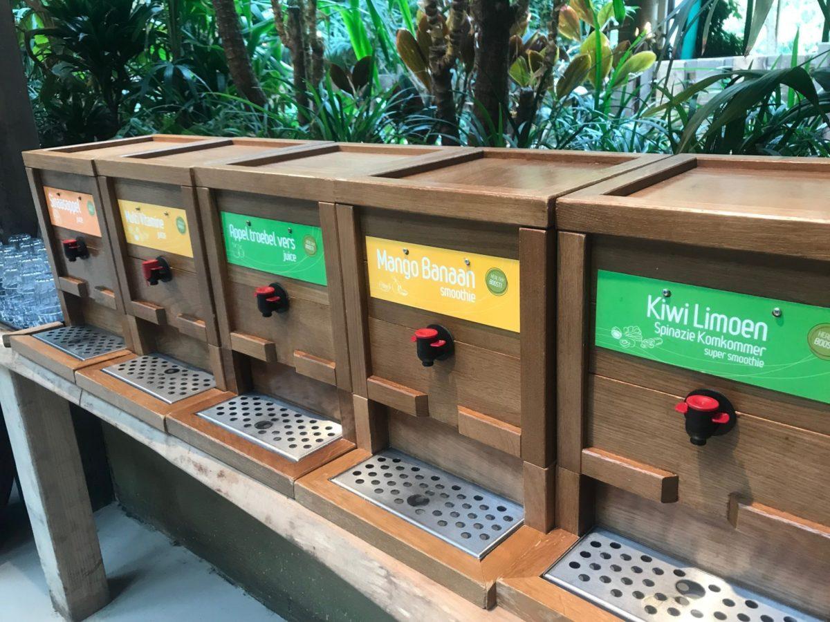 Keuze Fruitsap Center Parcs