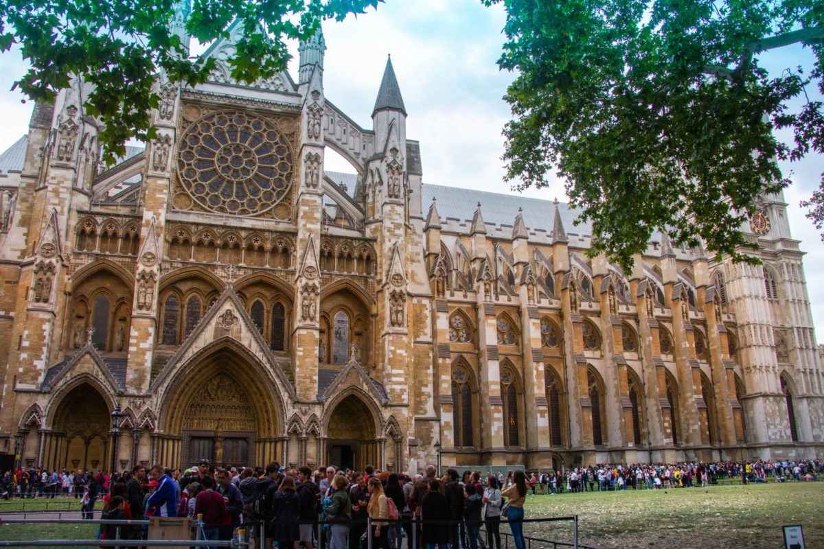 Westminster Abbey Londen Dag 1