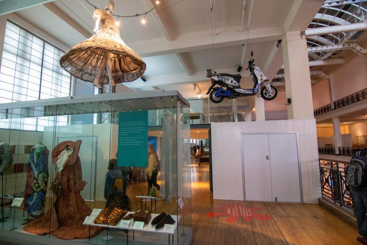 Londen Challenge of materials Science Museum