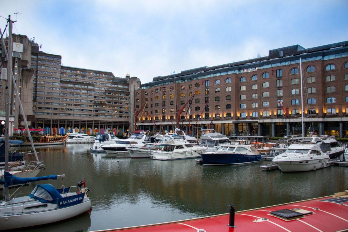 St Katharines Dock