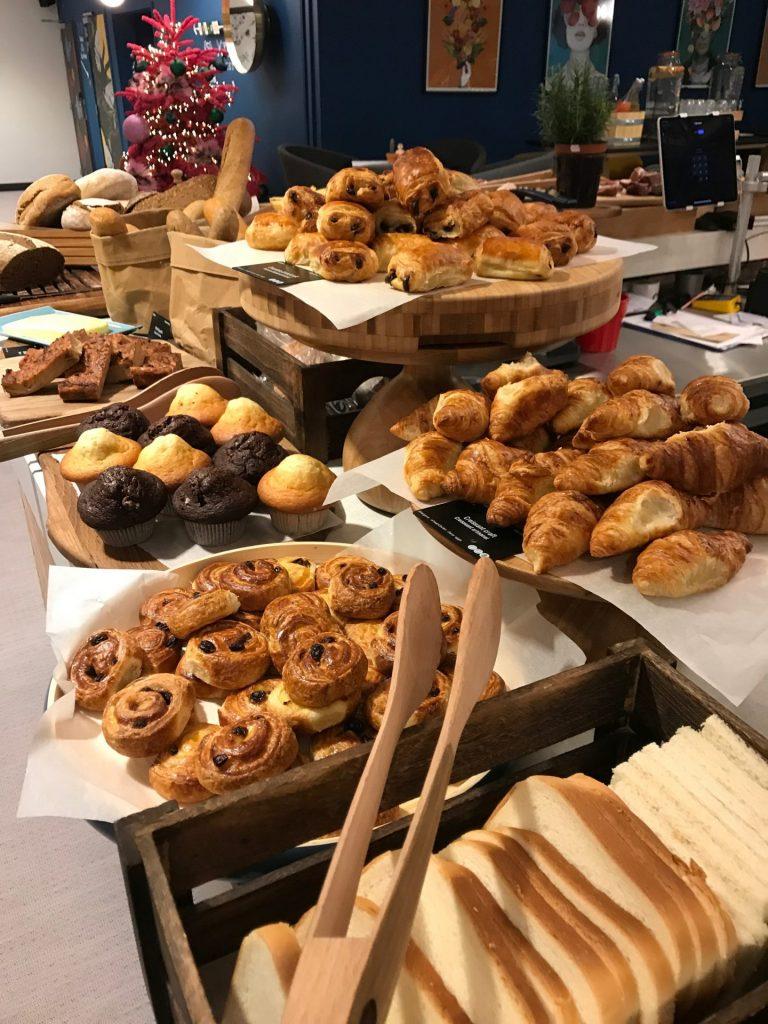 Ontbijt in het Qbic hotel