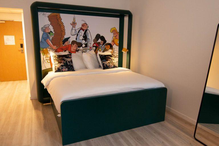 Kamer milieuvriendelijk Qbic hotel