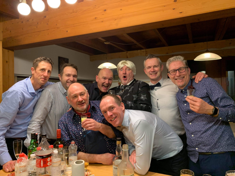 Nieuwjaar vieren in de Ardennen