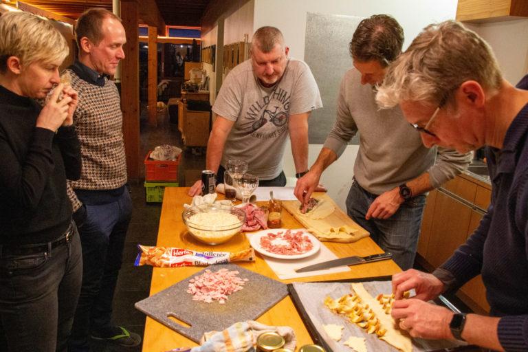 Nieuwjaar in de Ardennen