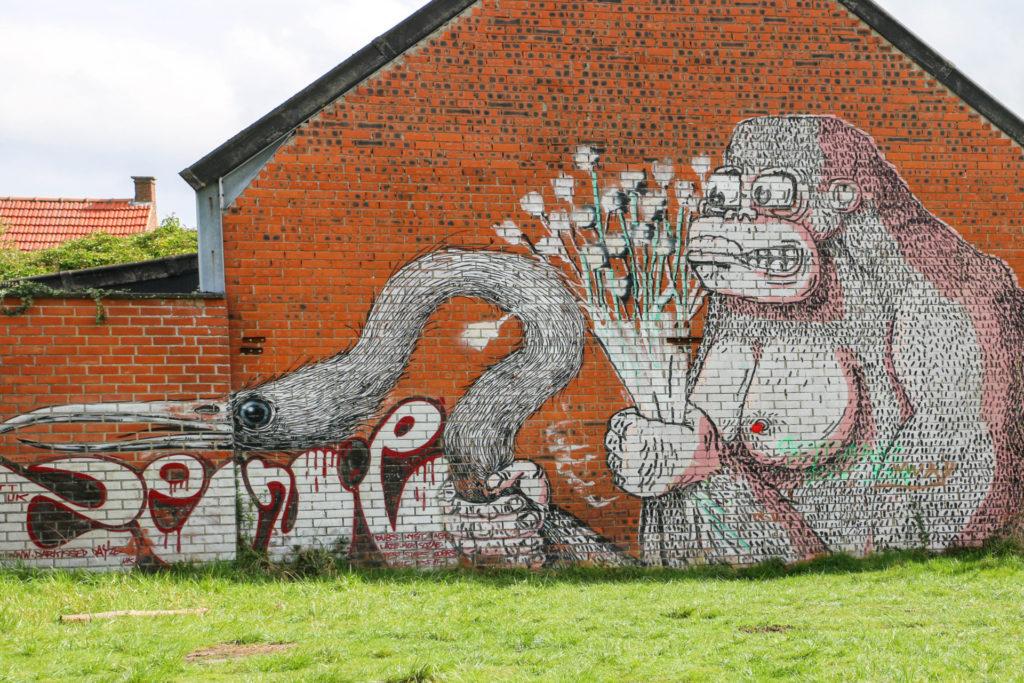 ROA Graffiti Doel