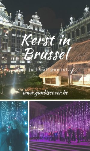 Pinterest afbeelding Kerst in Brussel