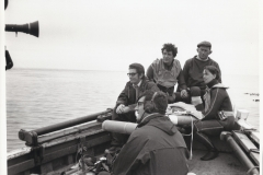 crew/divers before raising the cannon