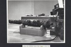 The cannon in the ITV studio