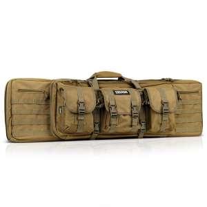 SAVIOR EQUIPMENT AMERICAN CLASSIC 42″ – DOUBLE RIFLE BAG FDE TAN