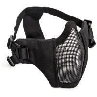 ASG Metal mesh mask with cheek pad, Black