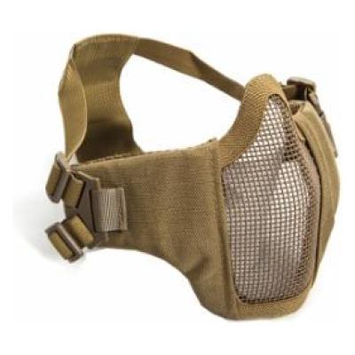 ASG - Metal mesh mask with cheek pads, Tan
