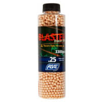 ASG Blaster Tracer, 0.25g, airsoft BB, 3300 pcs. bottle - red