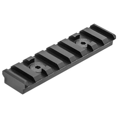UTG PRO M-LOK(TM) 8-Slot Picatinny Rail Section, Black