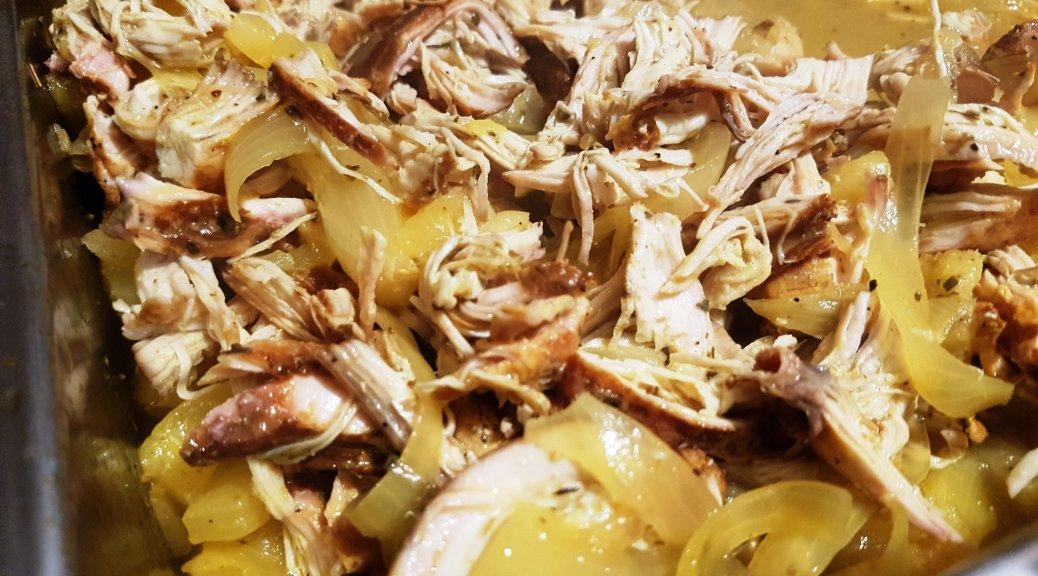 gepulltes Chicken